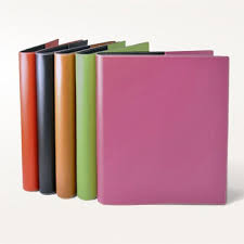 colorful 3 silver ring binder planner