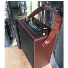 Loa karaoke Zansong A061 thùng gỗ bluetooth siêu hay tặng kèm 1 ...