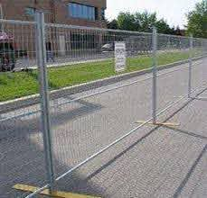 What Is Temporary Fencing Saglam Fence Company