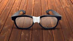 old beaten up pair of glasses