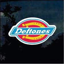 Really Cool Deftones Full Color Decal Band Stickers Only 5 99 Logos De Bandas Bandas