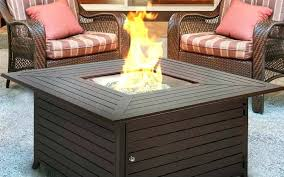 best propane fire pit tables table top
