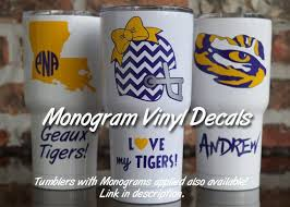 Vinyl Decal Lsu Yeti Decal Lsu Sic Decal Tiger Football Louisiana Tigers Tiger Baseball Cup Decal Yeti Decals Yeti Cup Designs