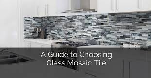 a guide to choosing glass mosaic tile