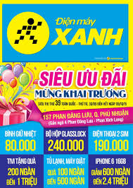 Tưng bừng khai trương siêu thị Điện máy XANH Phan Đăng Lưu