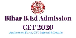 Bihar 4 Year B.Ed Online Form 2020