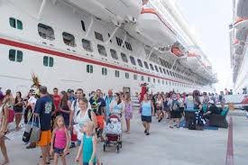 what to expect on a cruise getting off