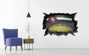San Francisco 49ers Stadium Wall Decal Egraphicstore