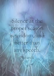 plutarch quote on silence literary quotes mixed media by ann powell