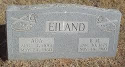 Bertha Ada Reynolds Eiland (1893-1960) - Find A Grave Memorial