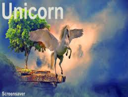 unicorn screensaver roku channel