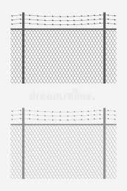Wired Fence Or Chain Link Fencing Metal Enclosure Stock Vector Illustration Of Fencing Background 168441883