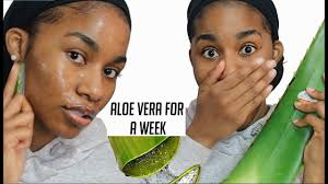 benefits of using aloe vera for skin