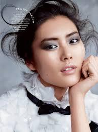 liu wen stuns in evening ready makeup