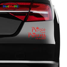 2020 Wholesale Car Accessories Prince And Princess On Board Vinyl Fun Sticker Car Decal From Bulangying 23 12 Dhgate Com