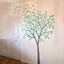 2m Tall White Nursery Tree Wall Decal Wall Sticker Large Tree Home Decor Vinyl Wall Decals Diy Leaves Kids Room New Lc1061 Wall Stickers Aliexpress