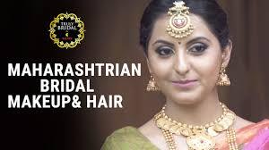 maharashtrian bridal makeup and hairdo