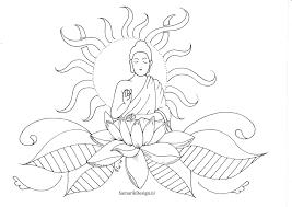 Kleurplaat Voor Volwassenen Lotus Kleurplaten Lijntekeningen
