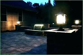 planter outdoor lamp front yard
