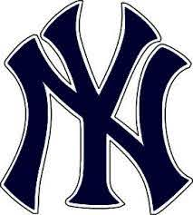 New York Yankees Mlb Baseball Bumper Sticker Wall Decor Vinyl Decal 5 X 4 5 Blu Ebay