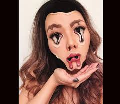 horrific makeup looks