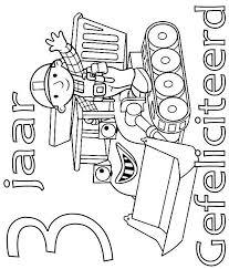 Kids N Fun Kleurplaat Bob De Bouwer Verjaardag Bob En Muck 3 Jaar