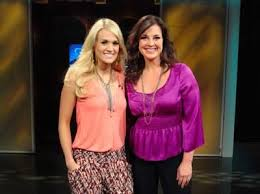 Carrie Underwood and host Nan Kelley | Carrie underwood, All ...