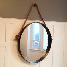 diy iron rope mirror front life