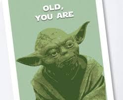com star wars yoda birthday card handmade