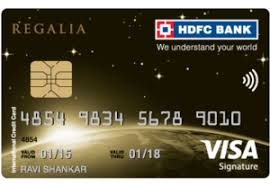 apply for hdfc regalia credit card