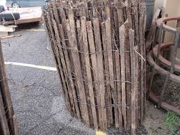 Roll Of Wood Snow Fencing 4 Ft Tal Old Barn Cleanout Antique Wood Metal Farm Items More K Bid