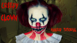 clown makeup tutorial scary saubhaya