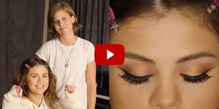 selena gomez eye makeup cat eye makeup