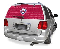 Philadelphia Phillies Decals Philadelphia Phillies Window Graphics Philadelphia Phillies Mlb Logo Rearz Back Windshield Covering By Glass Tatz