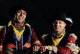 Watch this adorable gay Native American couple break barriers with a pow  wow dance / LGBTQ Nation