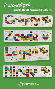 Custom Name Sticker Arts And Bricks In 2020 Name Wall Stickers Personalized Wall Decals Name Wall Decals