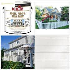 Kilz Exterior Siding Fence And Barn Paint White 1 Gallon Buy Products Online With Ubuy Nigeria In Affordable Prices 163741744179