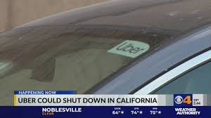 Uber could shut down in California ...
