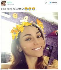 snapchat users react glee to a new butterfly lens filter that