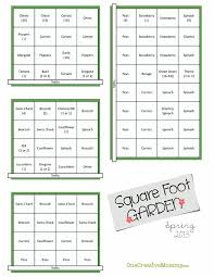 square foot herb garden layout