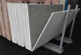 beige travertine lightweight wall panel