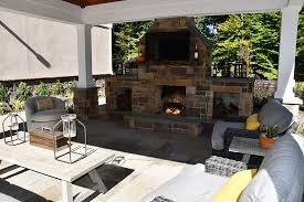 planning an outdoor fireplace