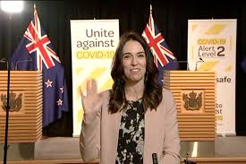 Jacinda Ardern Continues TV Interview ...