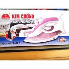 Bàn Ủi Hơi Nước Kim Cương T-620 - Hàng Chính Hãng (Bảo Hành 12 Tháng)
