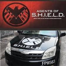 Avengers Agents Of Shield Hood Bonnet Vinyl Reflective Car Auto Decal Sticker Ebay