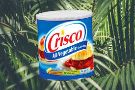 is crisco vegan does it conn dairy