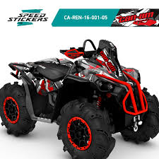 Can Am Brp Renegade Xmr 570 And 1000r With Snorkel Graphics Kit Free Gift Ebay