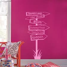 Storybook Locations Wall Decal Trading Phrases