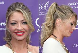 How Gorgeous Is Rebecca Gayheart-Dane's Girlish Ponytail?! | Glamour