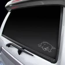 Rico Arkansas Razorbacks Official Ncaa 3 5 Inch X 3 75 Inch Static Cling Window Car Decal By Rico Walmart Com Walmart Com